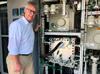Karl-Josef Kuhn, Siemens Energy in front of the rheticus electrolyzer