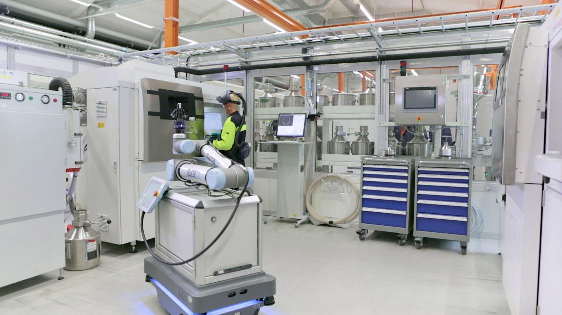 AM Robot Siemens Energy Finspang