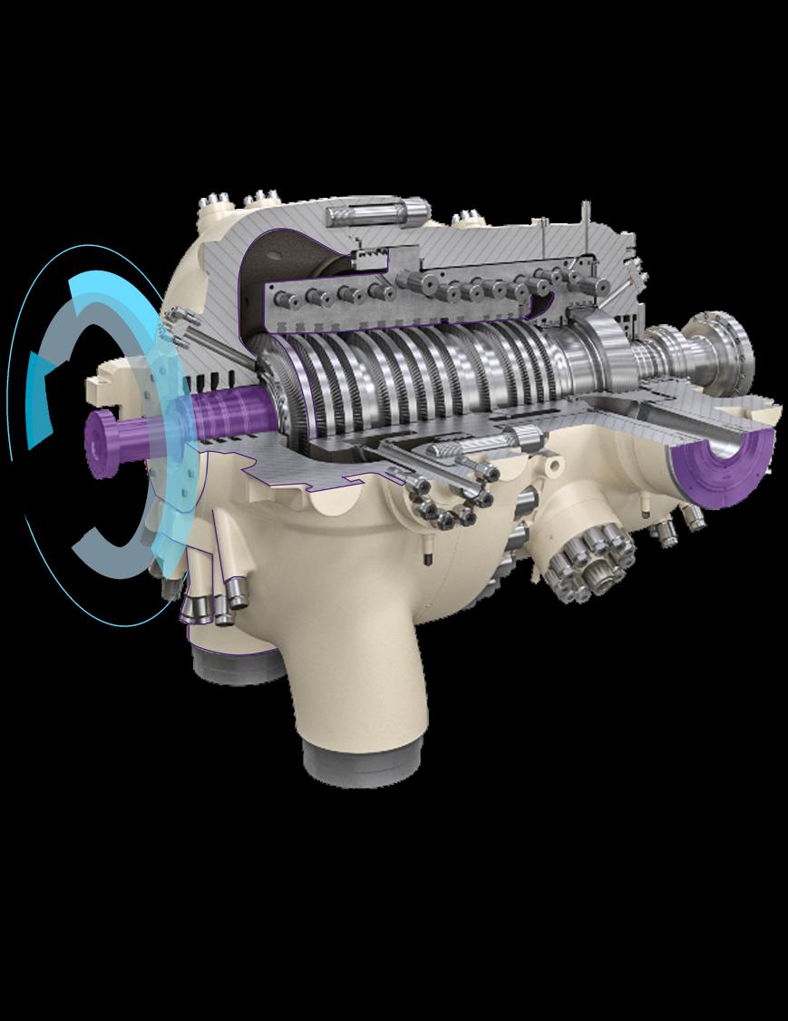 Gas turbine exchange