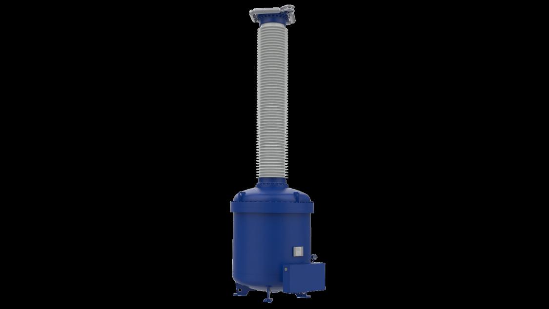 Blue station service voltage transformer up to 420 kV