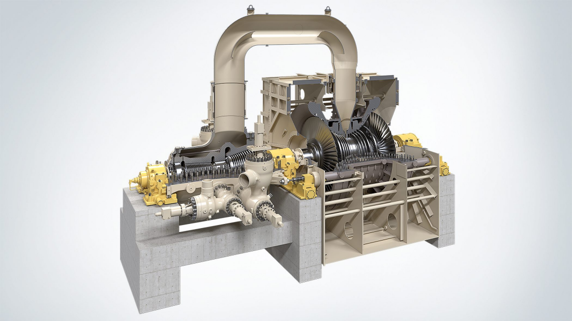 SST-5000 steam turbine