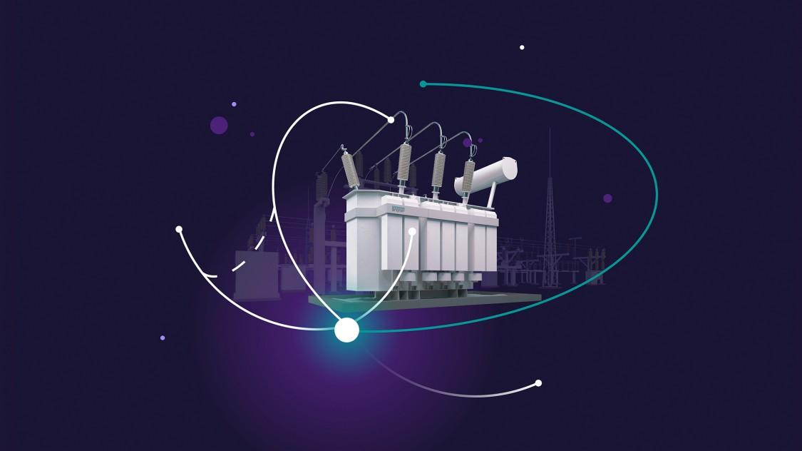 Power transformer distribution transformer