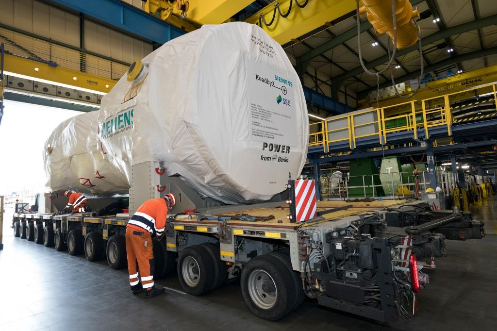 Leistungsstärkste und effizienteste Siemens Gasturbine fertiggestellt