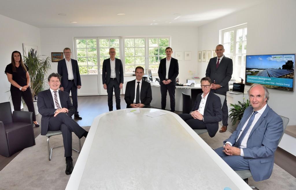 GREEN Solar und Siemens Energy unterzeichnen Kooperation zur Erstellung eines Konzepts für ein CO2-freies Herzogenrath