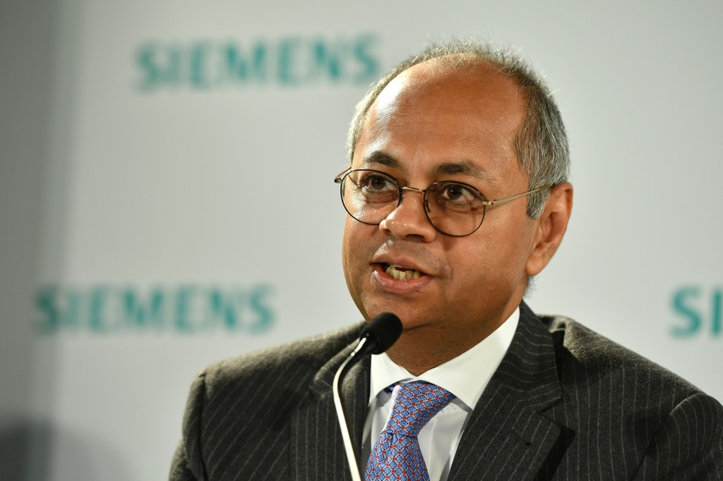 In the picture: Michael Sen, Co-CEO Gas and Power and designated CEO of Siemens Energy.