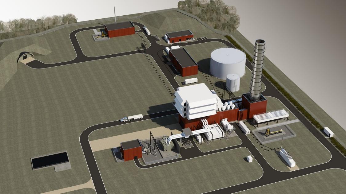 Leipheim -  Remote-controlled power plant