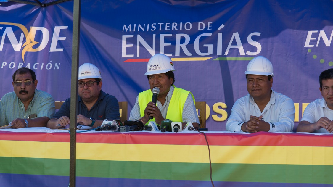 Strengthening Bolivia's energy sovereignty