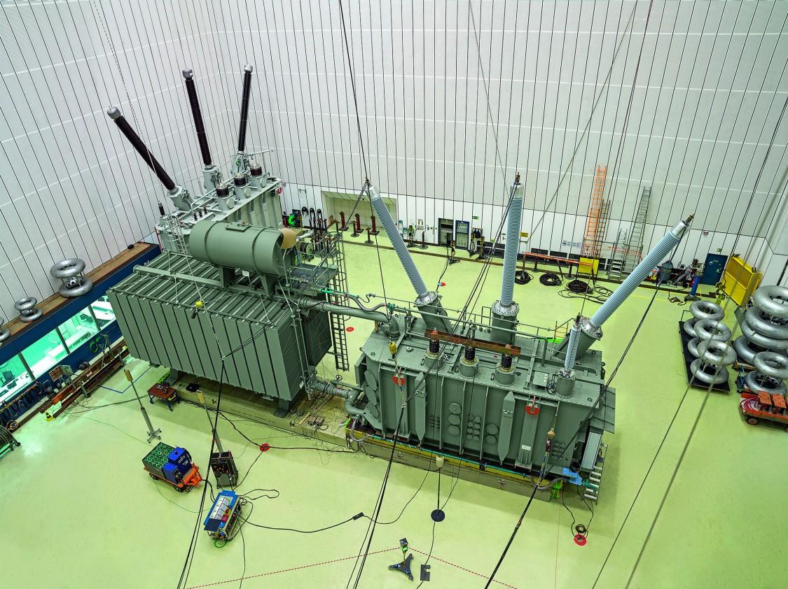 Power Transformer in Testing Laboratory