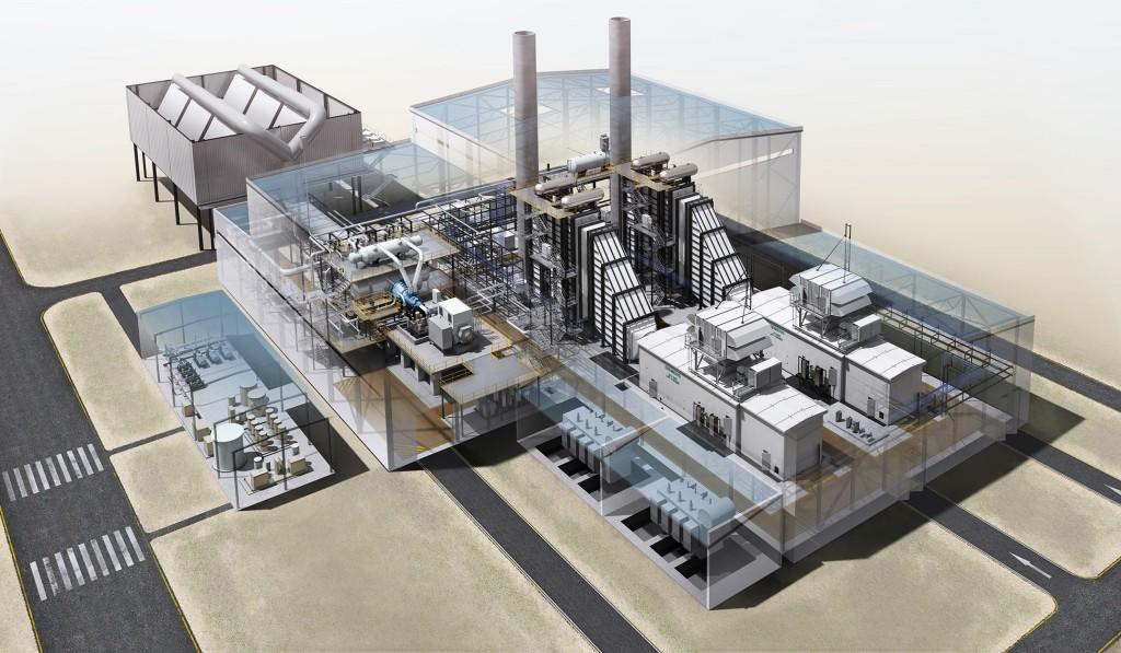 SGT-800 Power plant
