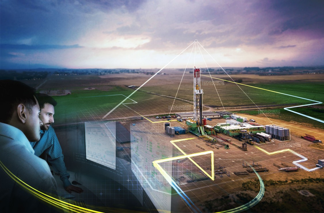 Unconventional oil and gas key visual