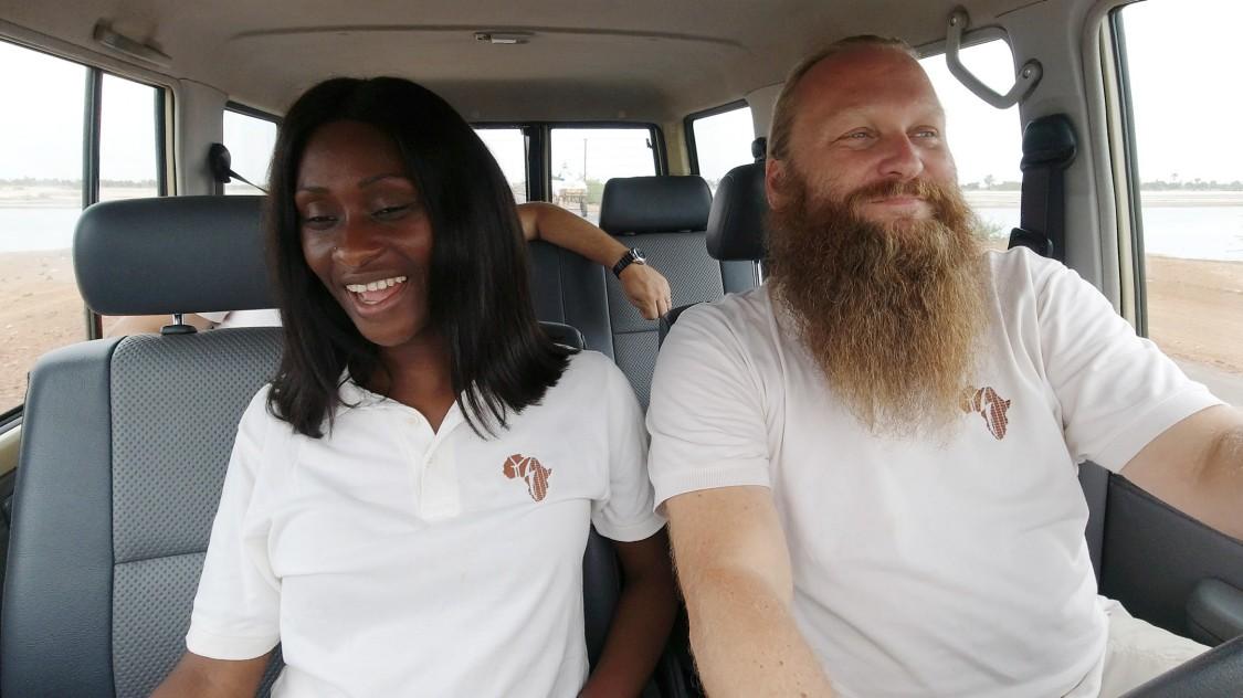 Africa GreenTec Thorsten Schreiber and his wife Aida
