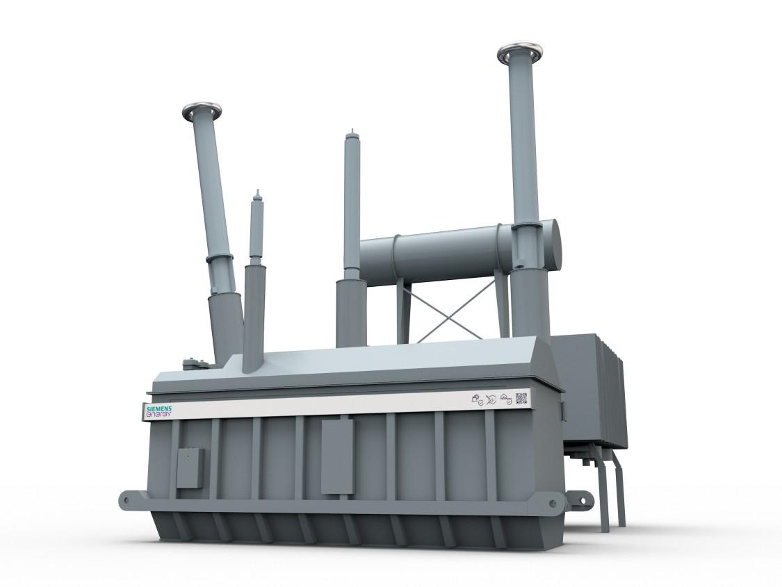 Prototype Rendering of transformer for Südostlink