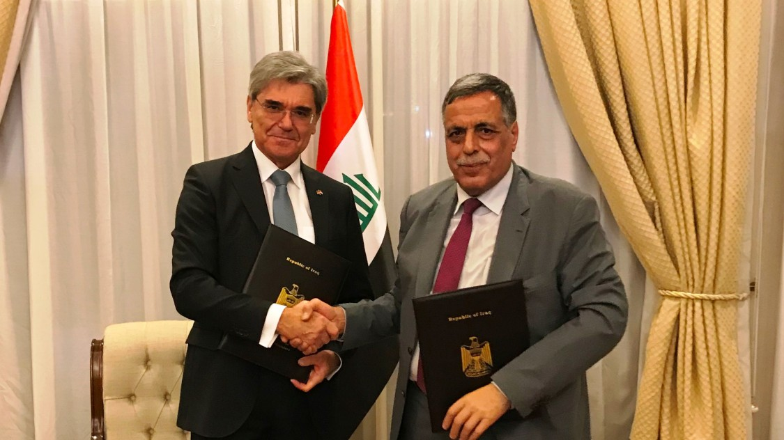 Siemens outlines roadmap for repowering Iraq