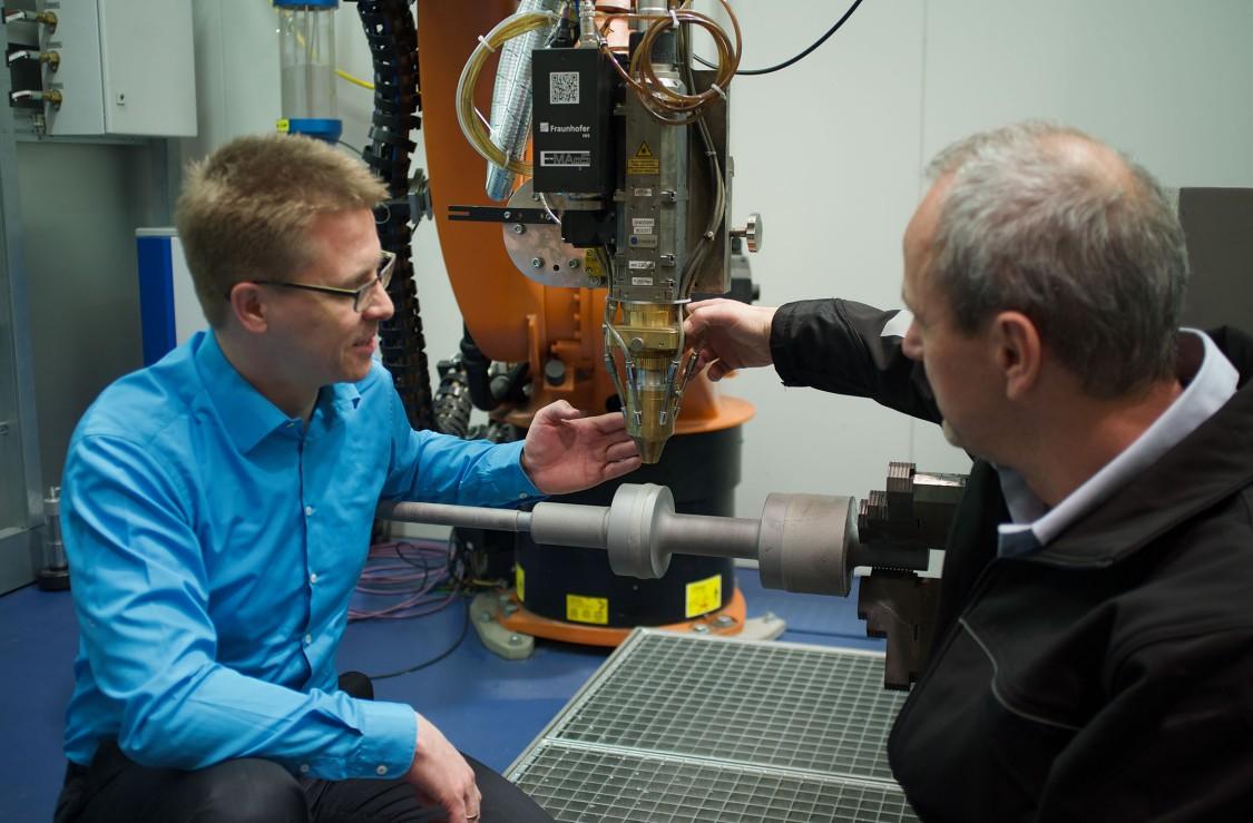 Siemens Laser Cladding Center in Nuremberg
