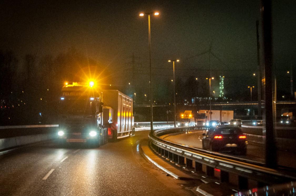 Transportation on trucks