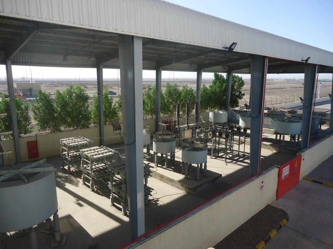 SVC PLUS® (STATCOM) at customer Sohar Steel