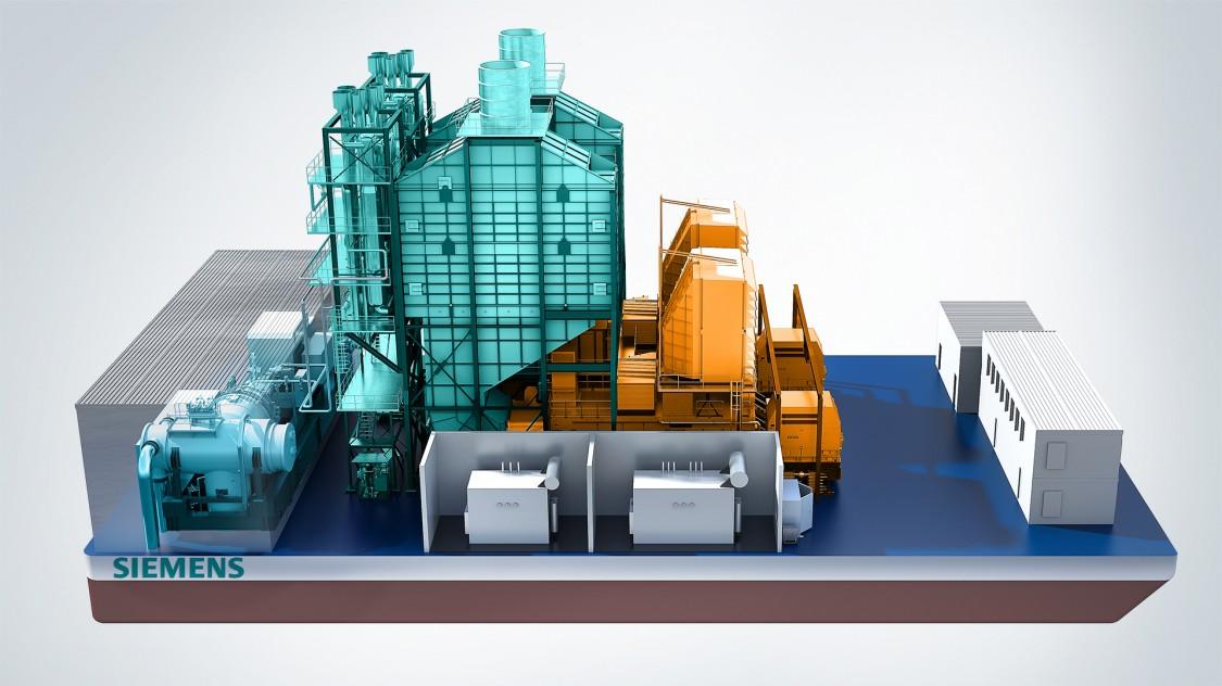 SGT-800 gas turbine SeaFloat