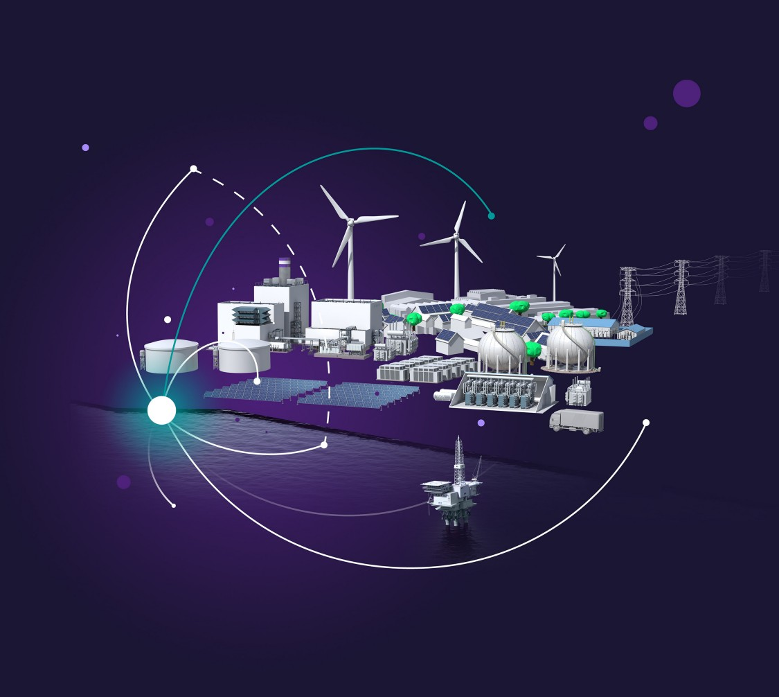 Energy landscape key visual