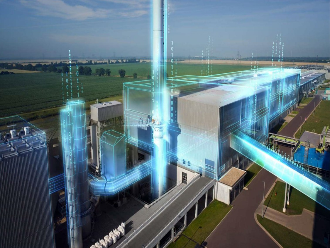 Power plant using Condition Monitoring and Machinery Protection from Siemens