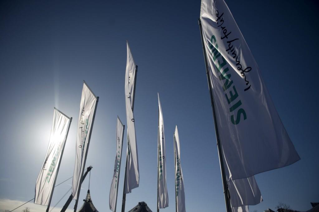 Siemens flags